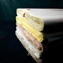 100 листов/упаковка рисовая бумага каллиграфия кисти для письма и китайской пейзажной живописи полуспелые Xuan бумажные чайные волокна Xuan бум...