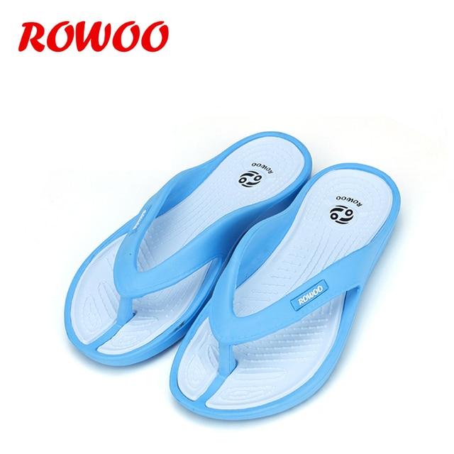 1457e3653fcea3 EVA Slippers Women Casual Massage Durable Flip Flops Beach Summer Sport  Sandals Shoes Lady Flip-