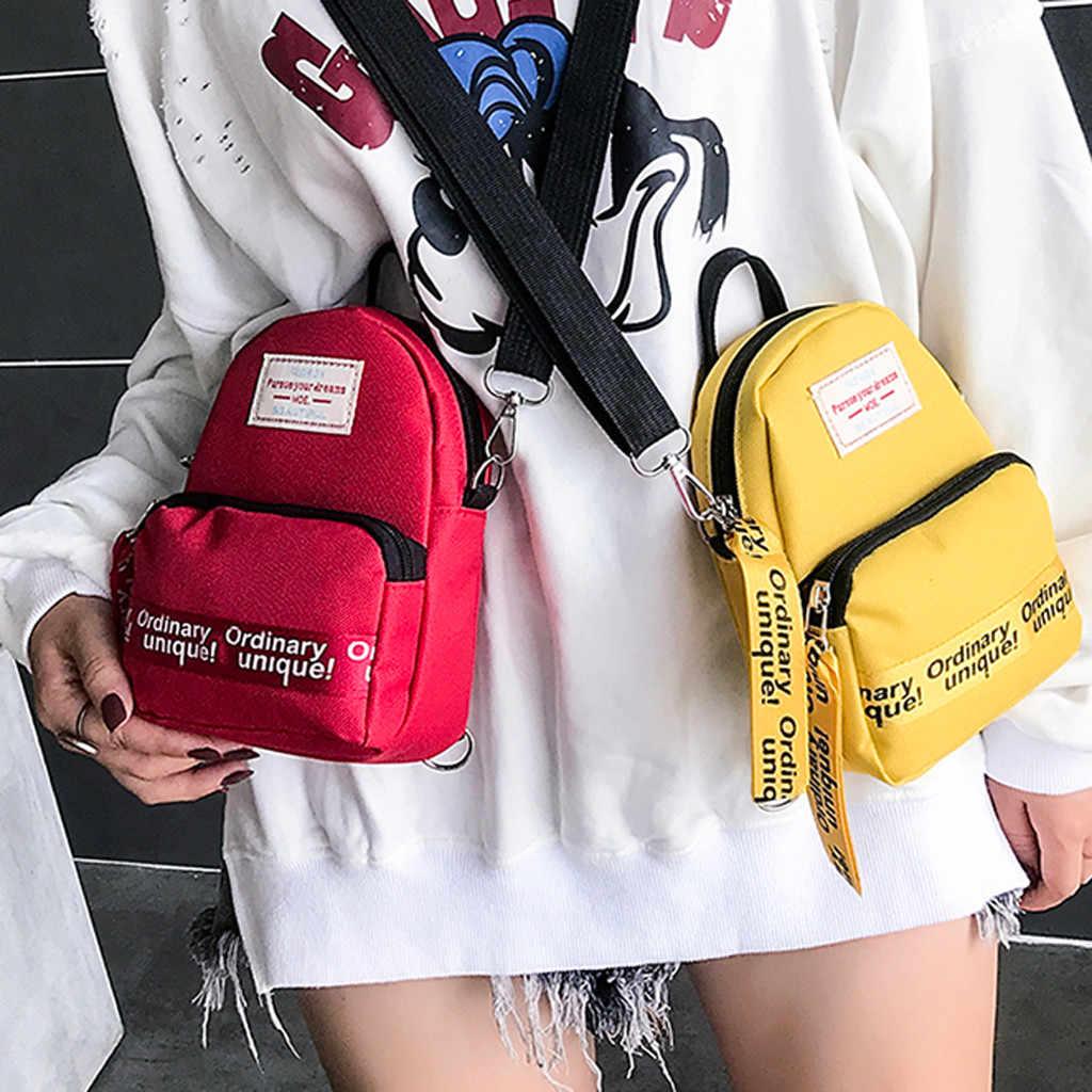 Женские сумки 2019, трендовые простые холщовые сумки через плечо, дамские мини-сумки через плечо для отдыха, сумки для женщин 50