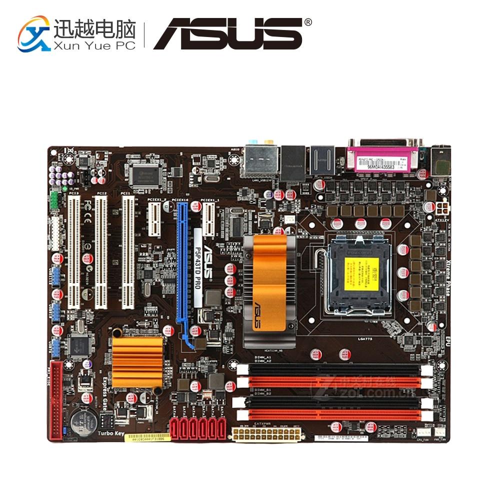 Asus P5P43TD PRO Desktop Motherboard P43 Socket LGA 775 DDR3 16G SATA3 USB2.0 ATX On Sale free shipping original motherboard for asus p5p43td lga 775 ddr3 16gb usb2 0 p43 desktop motherboard