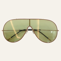 Metal Frame Oval Sunglasses Women 2019 Classic Vintage Sun Glasses Female Brand Designer Gradient Sunglasses UV400