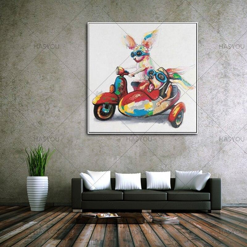 Moderne Abstrakte Cool Kaninchen Ölgemälde Handgemalt Leinwandbilder  Moderne Dekoration Wandkunst Wohnzimmer Decor Keine Eingerahmt In Moderne  Abstrakte ...