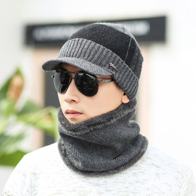 2019 Winter Hats   Skullies     Beanies   Hat Winter   Beanies   For Men Women Wool Scarf Caps Balaclava Mask Gorras Bonnet Knitted Hat