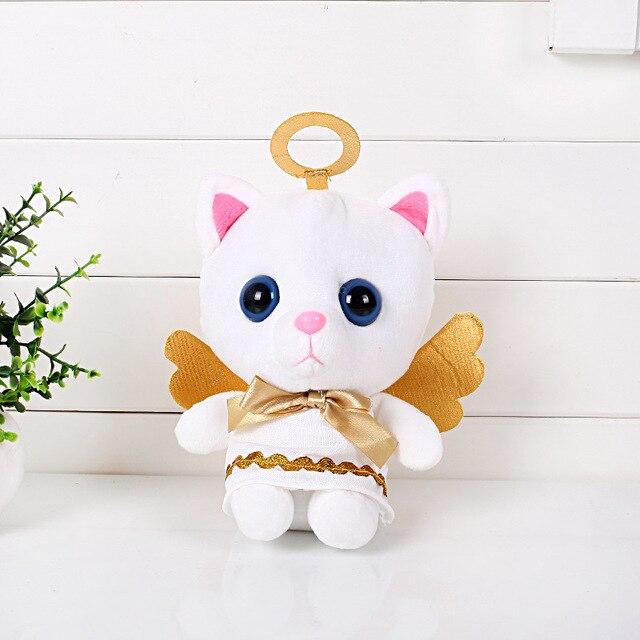 20cm Anime Toy Story Angel Cat Stuffed Plush Toys Kitty Cat Plush