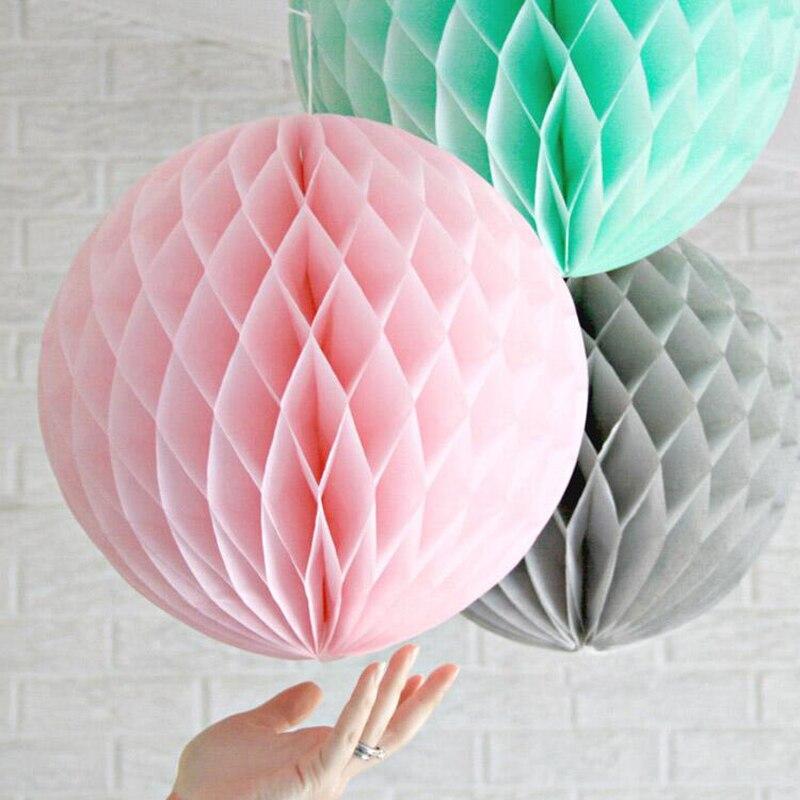 ⑦12 unids mezcla tamaño Honeycomb bolas fiesta de cumpleaños ...