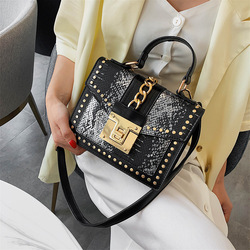 Female Crossbody Tote Bags Women 2019 Quality Leather Luxury Handbags Designer Sac Main Ladies Serpentine Shoulder Messenger Bag