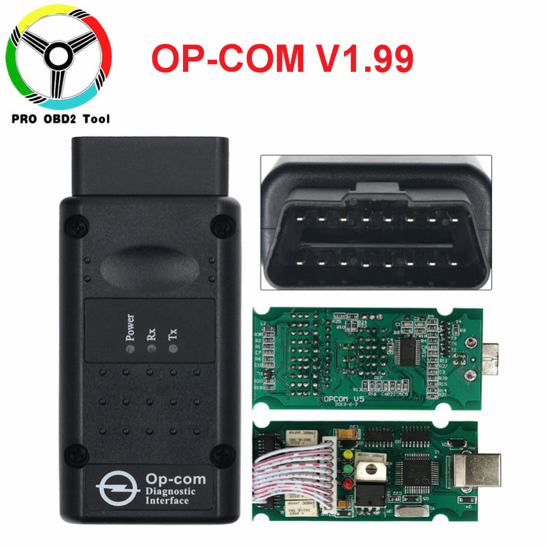 2018 OP COM V1.99 With PIC18F458 FTDI FT232RL Chip For Opel Diagnostic Scanner Better Than OP-COM V1.59,V1.65, V1.70 OBD2 Tool цена