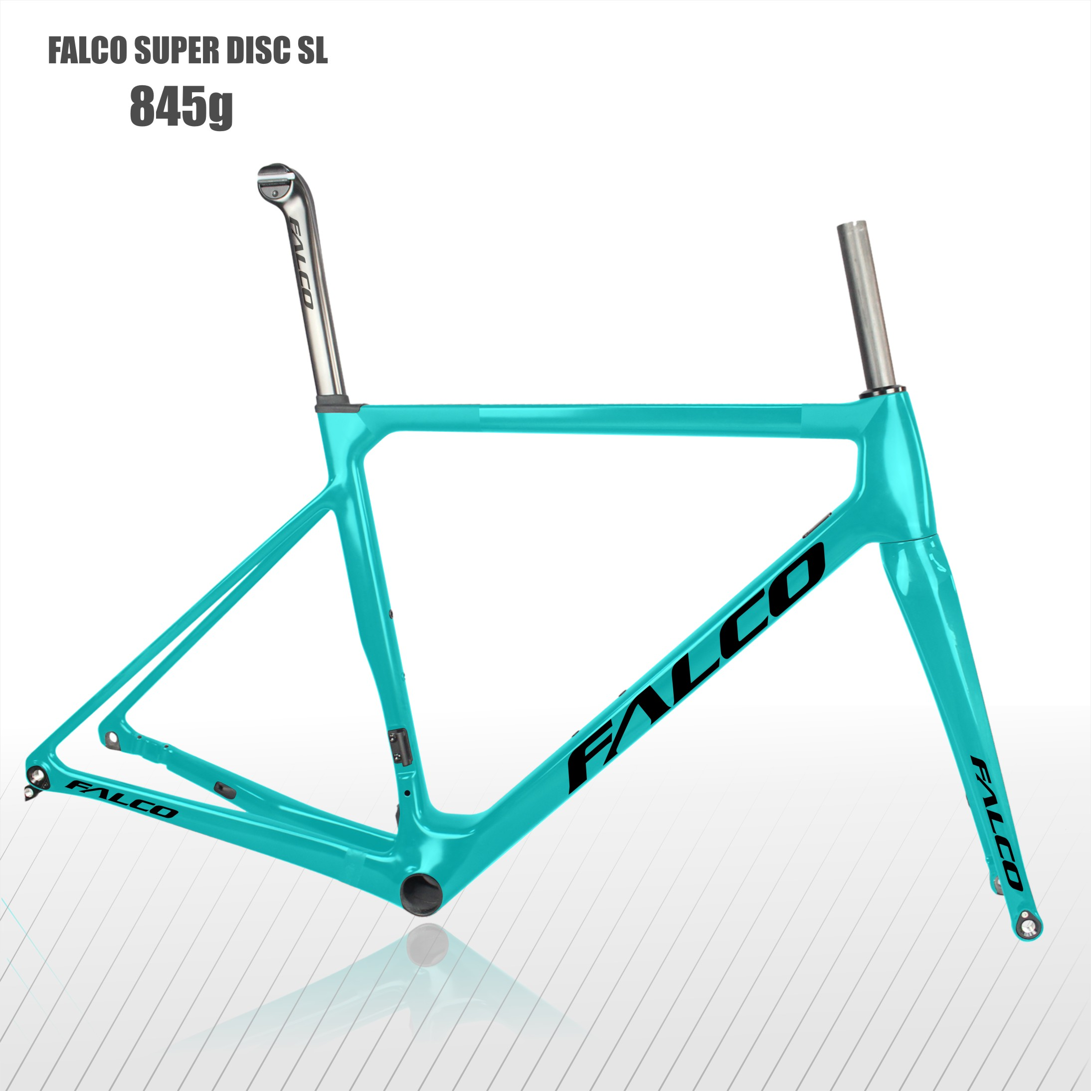 2020 FALCO Super disque vélos de route cadre en carbone T1000 Fiber de carbone 49 52 54 56 59 cm