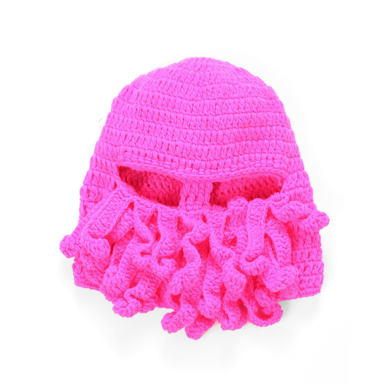 TTentacle Octopus Cthulhu Knit Beanie Hat Cap Wind Ski Mask Winter ...