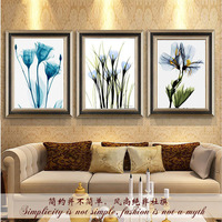 Modern Flowers Canvas Painting Home Decorative Wall Pictures For Living Room Nordic Pictures Art Oil Painting No Frame