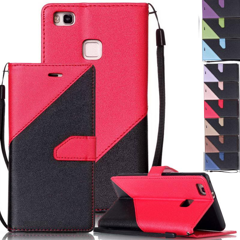 Para Huawei P10 Nova Hybrid PU Funda de cuero con tapa para Huawei Y3 - Accesorios y repuestos para celulares - foto 1