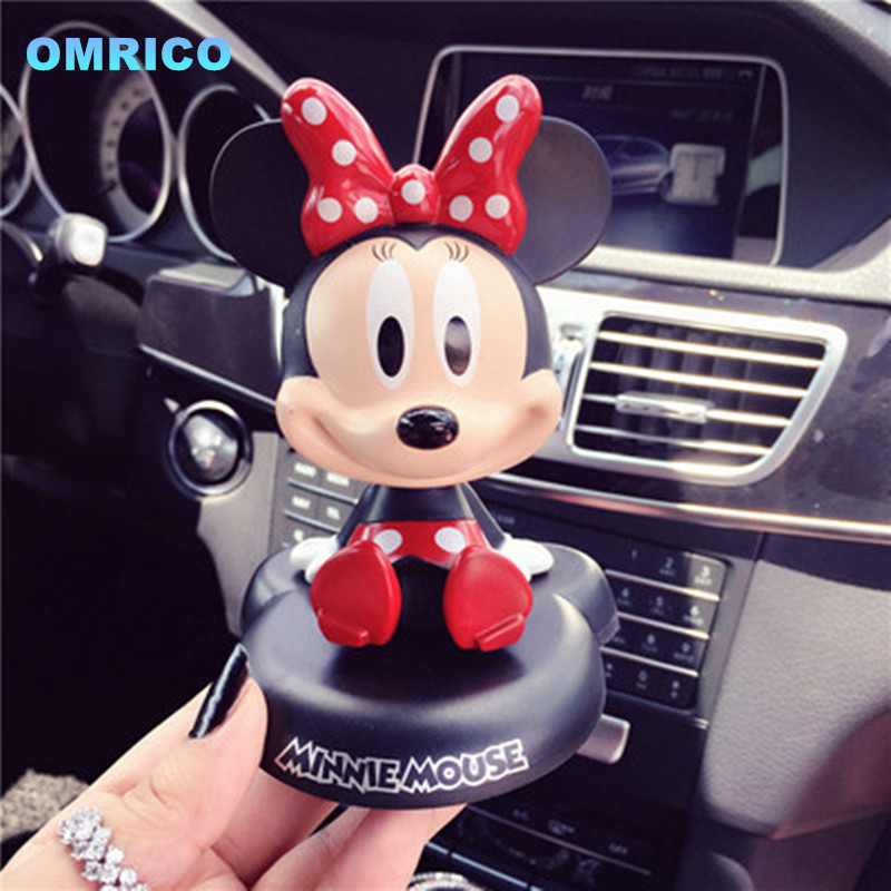 new fashion red bow bow minnie doll mousse cartoon bobble head cute cute creative. Black Bedroom Furniture Sets. Home Design Ideas