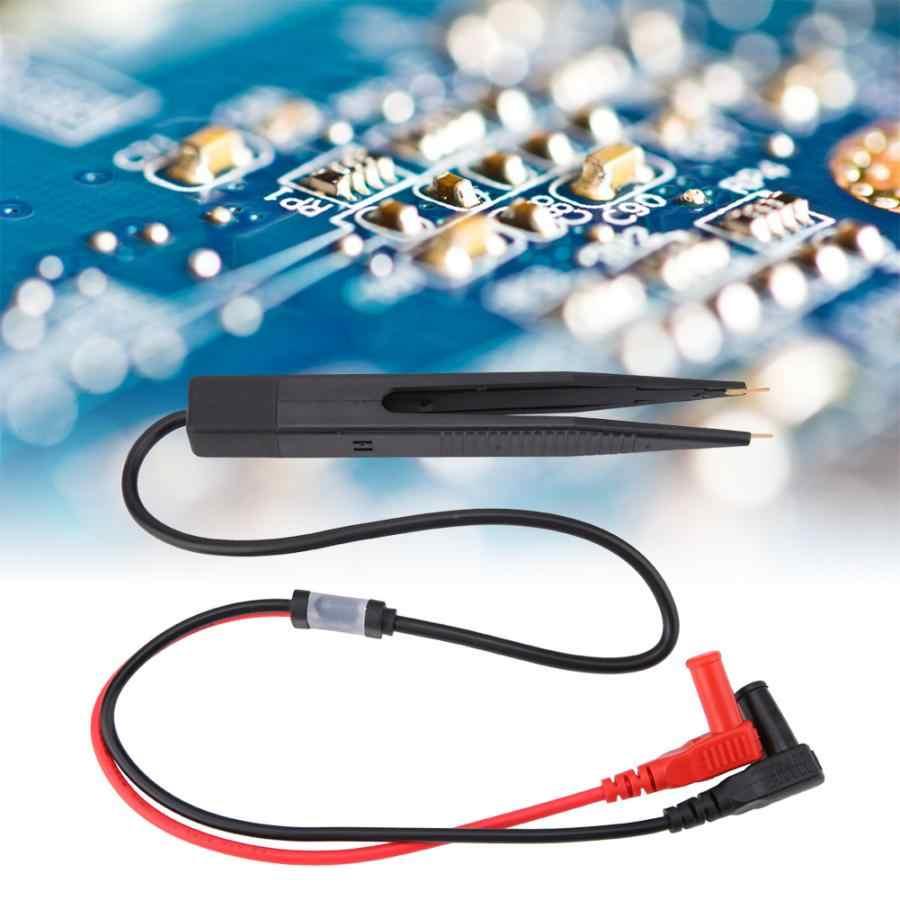 Clip di prova Meter Bianco SMD SMT Chip di Capacità Penna Clip di Piombo Sonda di Prova Per Il Tester Test Clip Meter