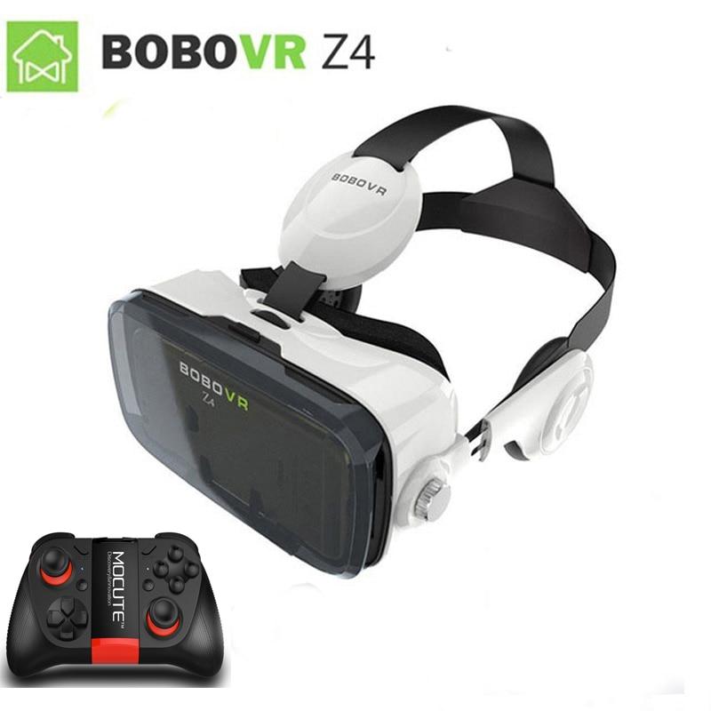 XiaoZhai bobovr z4 VR Виртуальная реальность 3D очки VR гарнитура VR шлем cardboad bobo коробка и Bluetooth контроллер - Цвет: VR MOCUTE