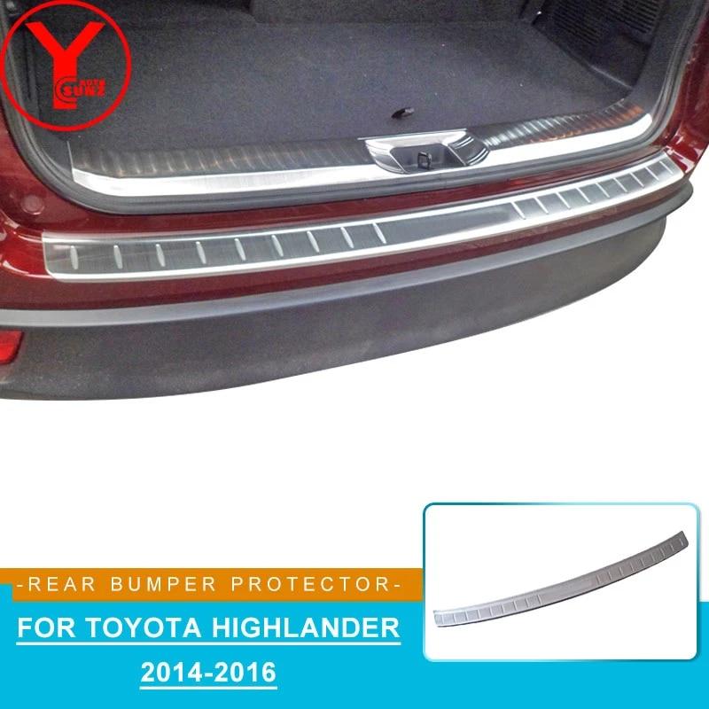 ABS Plástico Negro Protector de Parachoques Trasero Rasguño protector adapta a para Volvo XC90 2014
