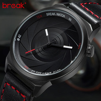 Break Brand New Original Design Photographer Series Unique Men Women Unisex Sport Simple Quartz Creative Fashion Casual Watches