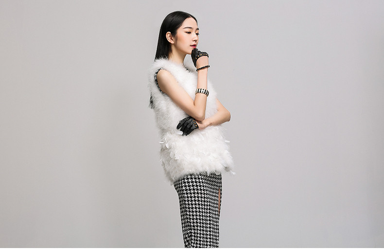 feather vest (20)