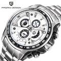 Original Top Luxury Brand PAGANI DESIGN Watches Men Military Sports Watch Dive 30m Multifunction Quartz Wristwatch reloj hombre