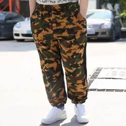 Хип-хоп шаровары тренировочные штаны Для мужчин Jogger уличная Sweatpant плюс Размеры свободные хлопковые мешковатые мужские брюки военный