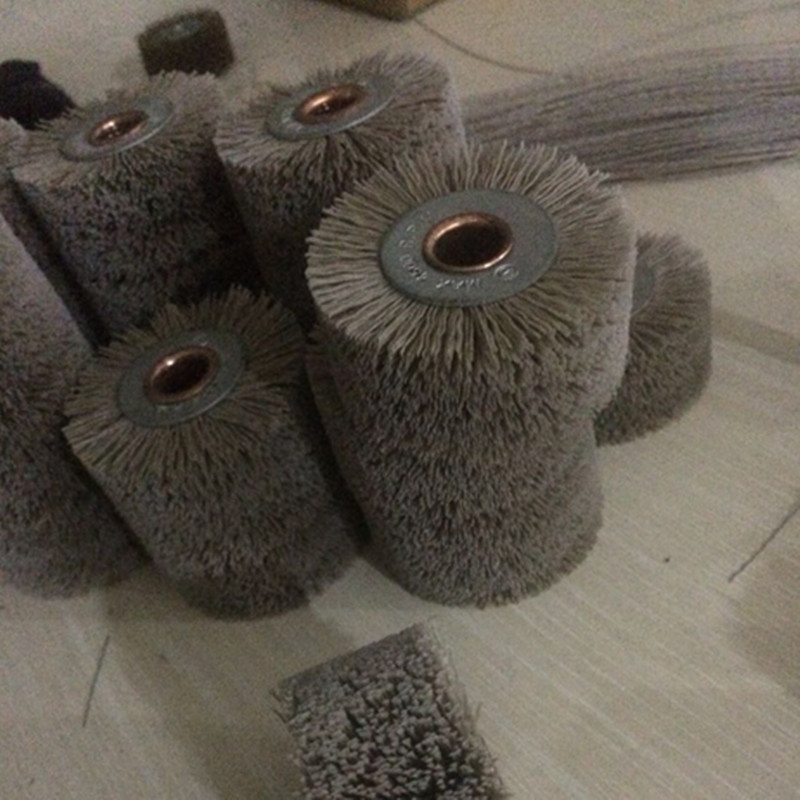 2 Pieces Abrasive Wire Grinding Flower Head Polishing Brush Grinding Tool Accessories
