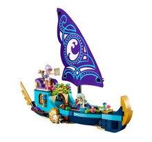Bela 10411 Forest Adventure Girl Naida's Epic Adventure Ship Minifigures Building Block Minifigure Toy Compatible with Legoe