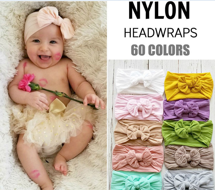 Clothing, Shoes & Accessories Brilliant 50pcs Baby Girl Elastic Solid Headband Diy Hair Accessories For Kids Headwear
