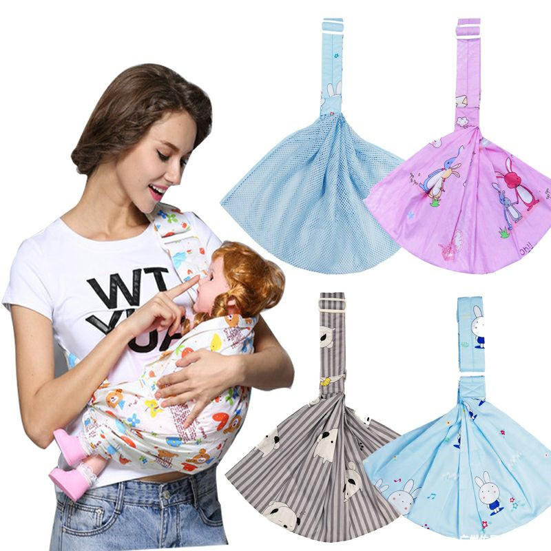 Baby Carrier Multi-function Baby Sling Newborn Baby Child Cross-armed Shoulder Strap Summer Cotton Four Seasons Before Holding