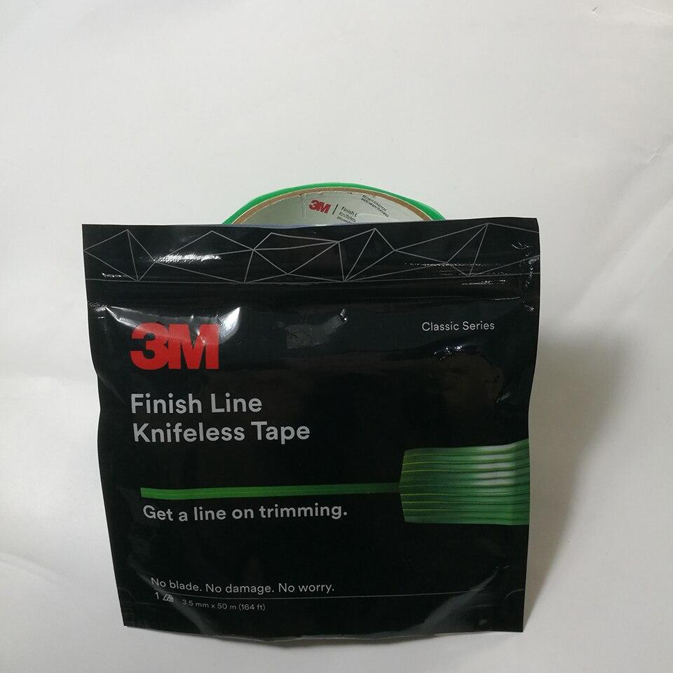 3.5mm Knifeless finition ligne vinyle Wrap coupe bande Tri ligne Knifeless bande pour vinyle graphique enveloppes Cut 50 m/164' rouleau MO-151