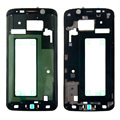 100% Оригинальные Замена Лицевая Панель Рамка Передняя Корпус Ближний Рамка Для Samsung Galaxy S6 Edge G925f Freeshipping