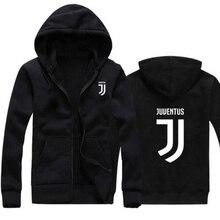 2017 Man/women Juventus print Sportswear Hoodies male Hip Hop Fleece Long Sleeve Hoodie Slim Fit Sweatshirt Hoodies for men
