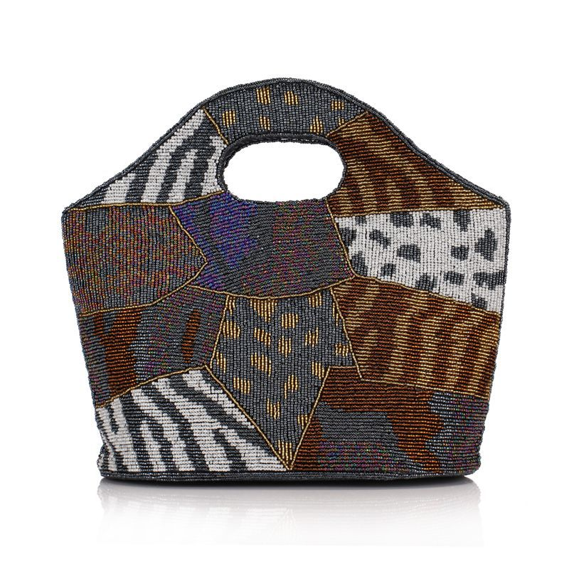 Винтажная сумочка, расшитая бисером женская сумка клатч свадебная сумочка клатч китайский стиль ручной работы бисер Сумка тоут