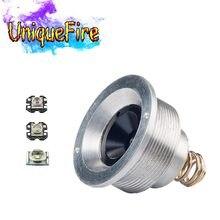 UniqueFire – support de lampe 1504, 3 Modes, goutte en XPE(G/R/W) Led pilule/pilote, équipé d'une lampe de poche UF-1504 de chasse