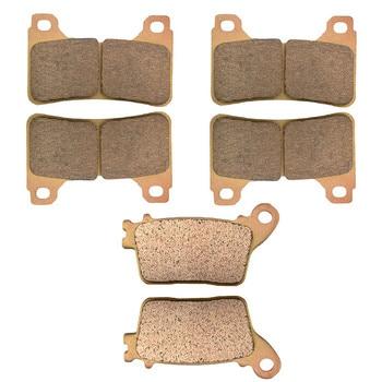 Motorcycle Parts Copper Based Sintered Motor Front & Rear Brake Pads For Honda CBR600RR CBR 600RR CBR600 RR 2007-2009 Brake Disk