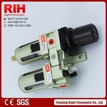 AC3010-03 Air Filter Regulators SMC Type Aluminium Alloy FRLCombination G3/8/A Series Air Source Treatment ComponentsAC3010-03