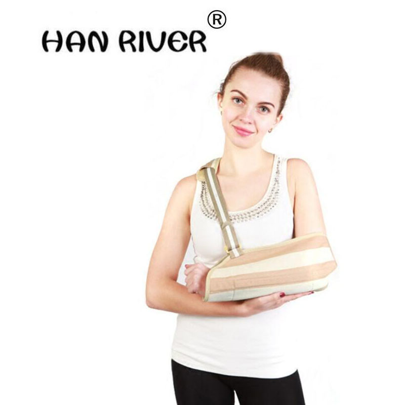 HANRIVER 2018 Forearm straps broken arm shoulder arm wrist medical adult upper limbs fixed with breathable and comfortable