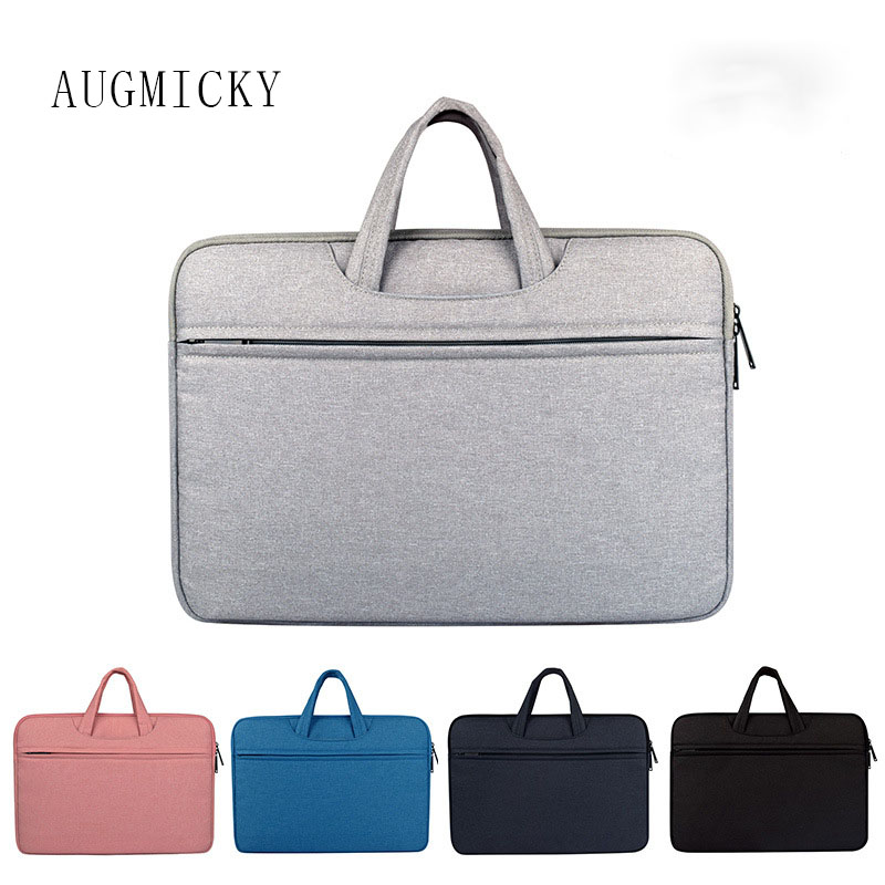 2018 Newest Brand Handbag Laptop Bag 13,14,15,15.6,Sleeve Case For Macbook Notebook Air Pro 13.3,15.4,Free Shipping
