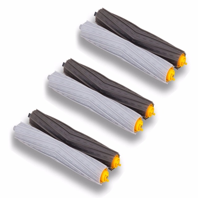 3 set Tangle-Free Debris Extractor Brush for iRobot Roomba 800 Series 860 870 880 980 Vacuum Cleaner replacement