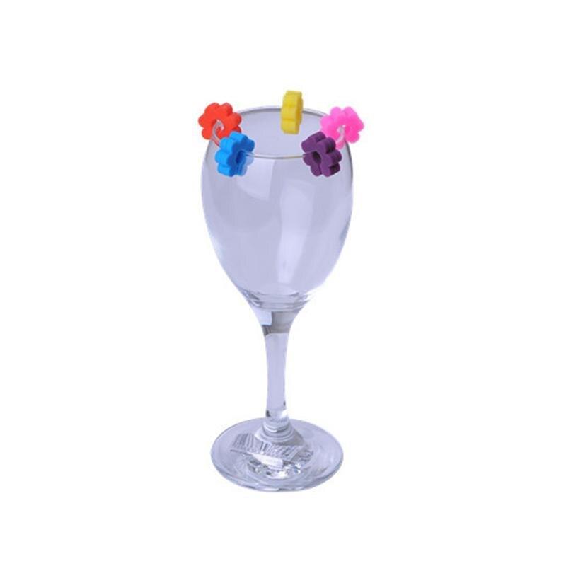 12 шт. креативные Силиконовые Стеклянные маркеры, цветные этикетки для бокалов вина, персонализированные этикетки, для банкета, вечерние, для бара, для напитков, маркер метки, метки