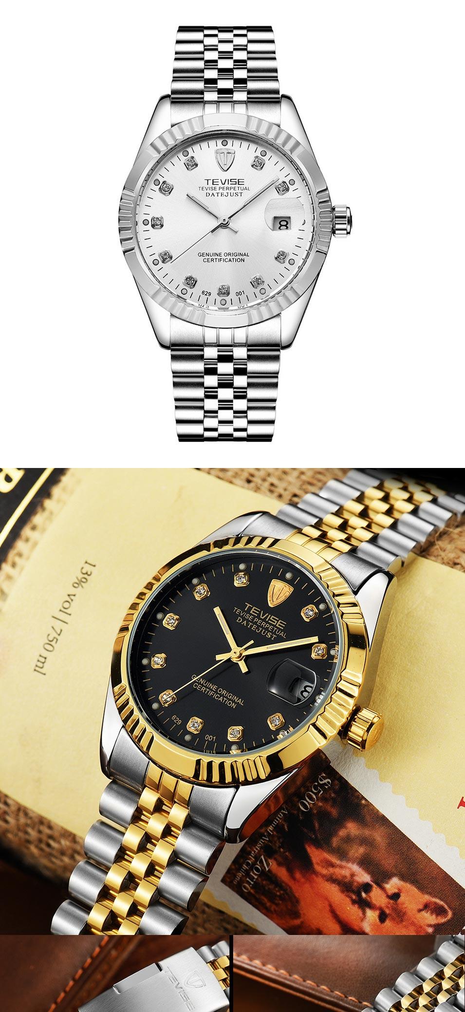 TEVISE-Men-Brand-Watch-Fash