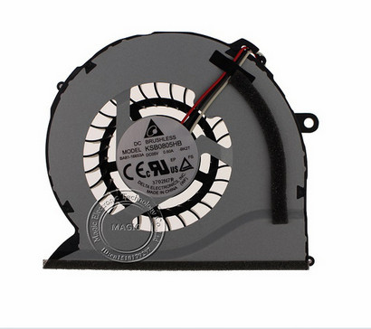 New laptop cpu cooling Fan For Samsung <font><b>NP550P5C</b></font> NP550P7C 550P7C NP-550P5C NP-550P7C 550P5C KSB0805HB BK2T image