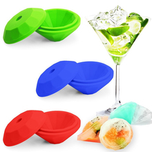 NEW Diamonds Shape 3D Ice Cube Mold Maker Bar Party Silicone Trays Chocolate Mold Kitchen Tool, A Great Gift