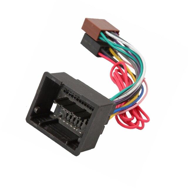 Msanzeo Cable estéreo de coche ISO Cable de cableado de Radio adaptador de arnés para Chevrolet Cruze Lake Spark