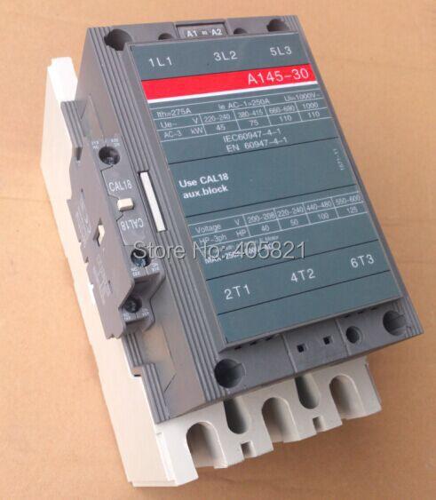 все цены на A145-30 AC contactor 3Pole magnetic contactor онлайн