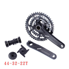High Quality Mountain Bike chain wheel Shift Kit 24 27 Speed Mountain Bike Mountain Bike Speed 54-32-22T bicycle Parts стоимость