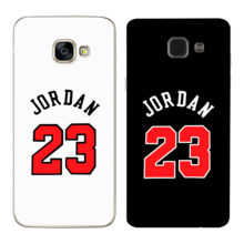 Case for Samsung Galaxy S5 S6 S7 Edge S8 Plus A3 A5 J1 J2 J3 J5 J7 2015 2016 2017 Note 8 Durable Jordan Phone Cover Luxury Soft(China)