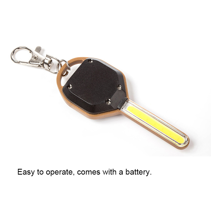 Knowledgeable Mini Led Flashlight Light Mini Key Shape Keychain Lamp Torch Emergency Camping Light Wwo66 Led Flashlights