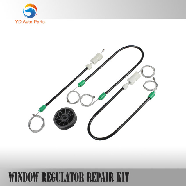 YD FREE SHIPPING WINDOW REGULATOR REPAIR CABLES AND ROLLER FOR NISSAN QASHQAI FOR Nissan Primera P12 FRONT-RIGHT