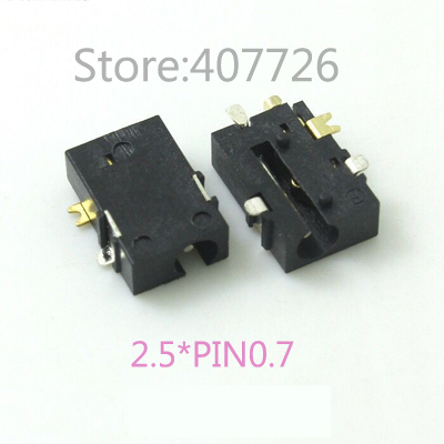 10 sztuk DC ładowania złącze zasilania gniazdo typu jack Adapter wtyczki 2.5*0.7mm dostaw Tablet Notebook interfejs złącze do montażu na panelu
