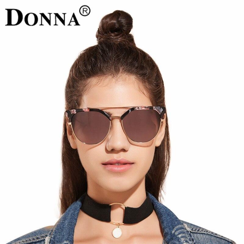 f5a926d343b Donna Vintage Metal Frame Sunglasses Women Brand New Designer Cat Eye  Glasses Fashion Women Decoration Classic Eyewear D14