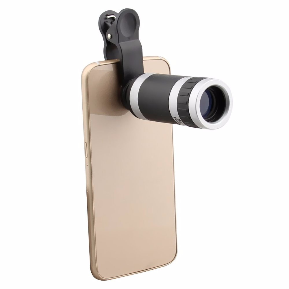8in1 8x Zoom Phone Camera Lens for Universal Cell Telescope Fisheye Wide Angle Macro Bluetooth Shutter With Selfie Stick Tripod 10
